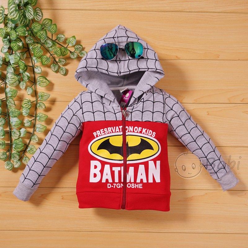 Ao khoac sieu nhan Batman cho be trai 9 thang 11 tuoi