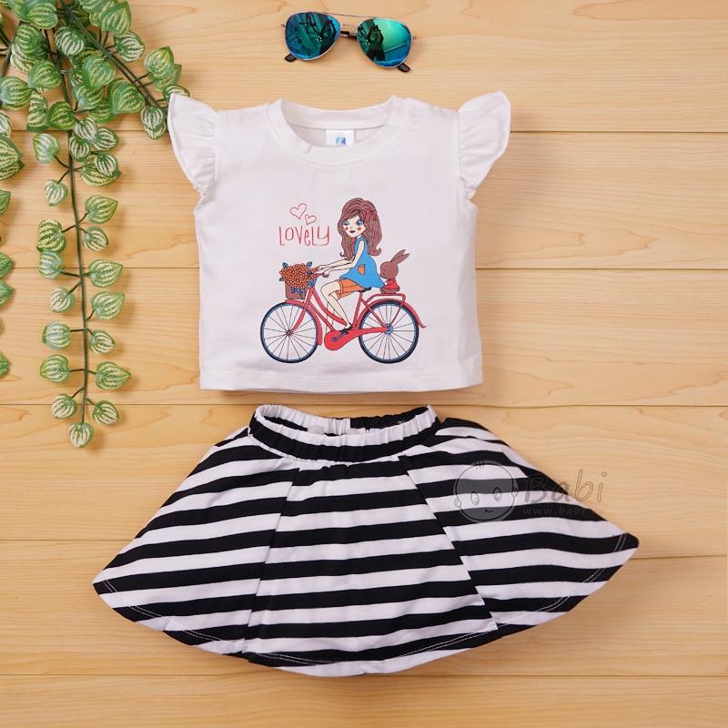 Bộ áo váy rời kèm quần chip cho bé gái (9 tháng - 5 tuổi)