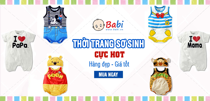 Chuyen ban quan ao tre em online giao hang toan quoc tai babi shop