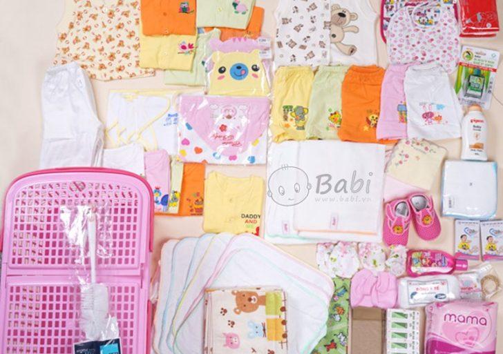 Những món đồ thiết yếu cần sắm khi chuẩn bị đón con yêu chào đời