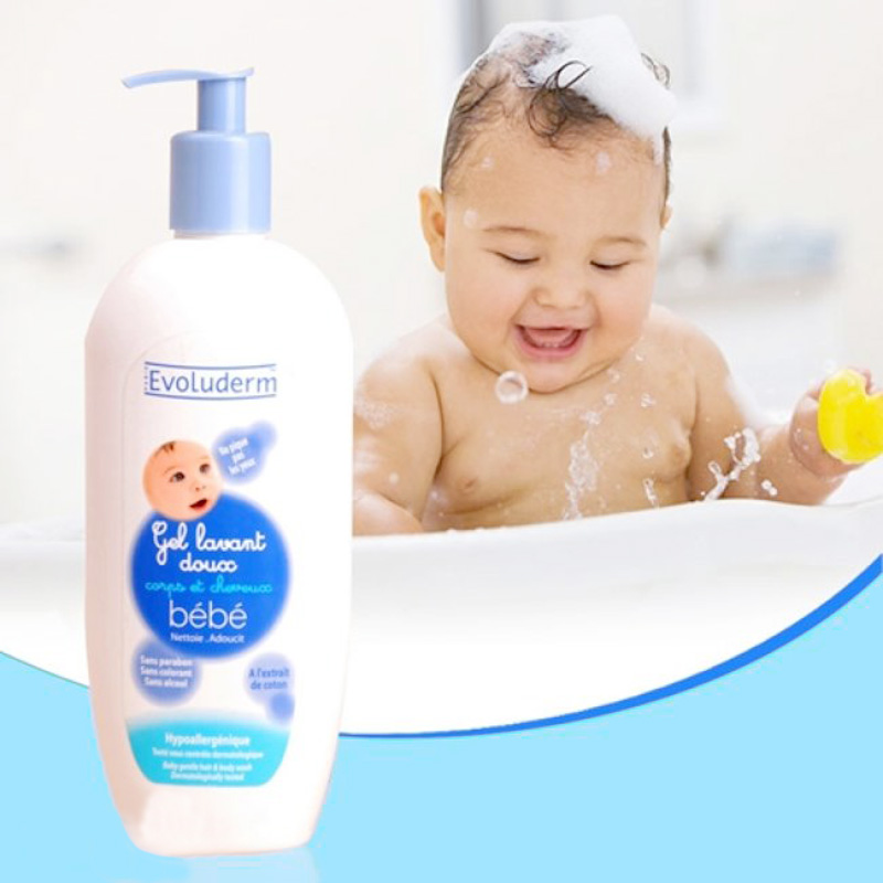 sữa tắm bebe