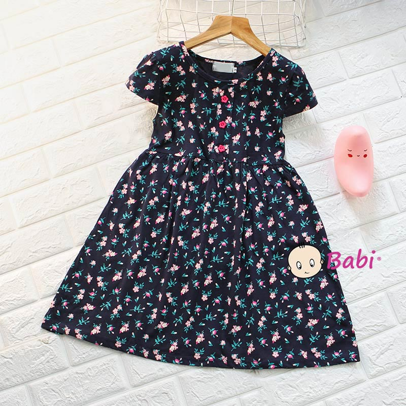 Đầm Tay Cánh Tiên Cho Bé Gái Nhiều Họa Tiết Dễ Thương Giá Rẻ Size Đại - 2