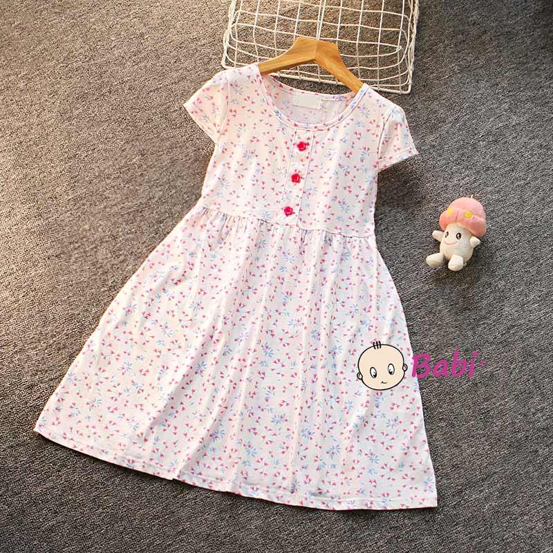 Đầm Tay Cánh Tiên Cho Bé Gái Nhiều Họa Tiết Dễ Thương Giá Rẻ Size Đại - 7