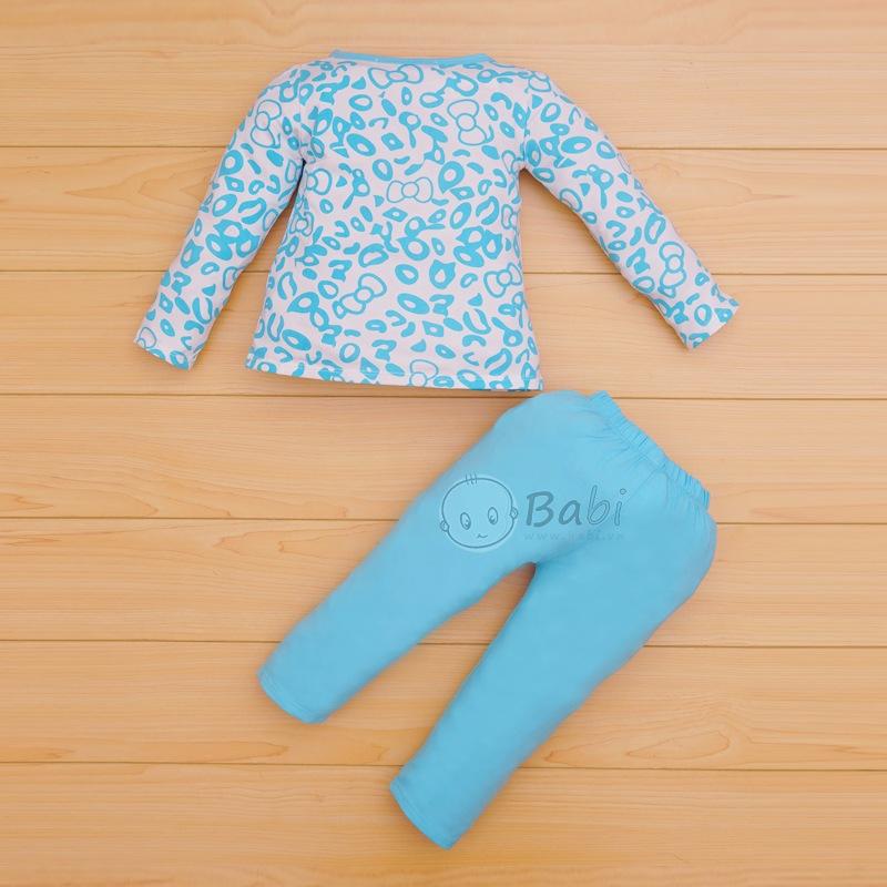 Quần áo bé gái tay dài in hình dễ thương (9 tháng - 11 tuổi)