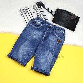 Quan Jeans Lung Be Trai Mau Tron Phong Cach Don Gian Size Dai Co (50kg - 65kg)