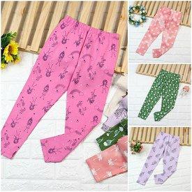 Quan Legging Dai Be Gai Nhieu Hoa Tiet Xinh Xan Size Dai  (6 - 10 tuoi)