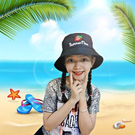 Non Di Bien Thoi Trang Han Quoc Xinh Xan Cho Be Gai (Tren 7 tuoi)