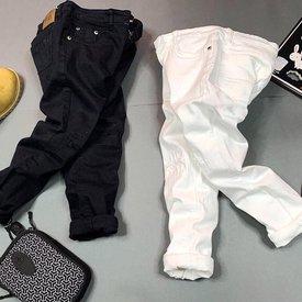 Quan Jeans Moc Cho Be Trai Mau Tron Wax Rach Nang Dong (5 - 8 tuoi)