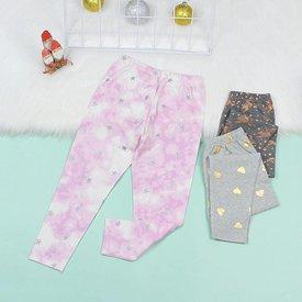 Quan Legging Dai Be Gai Nhieu Hoa Tiet Xinh Xan Size Nhi  (1 - 6 tuoi)