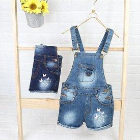 Quan Yem Short Jeans Cho Be Gai In Buom Xinh Xan (6 thang - 5 tuoi)