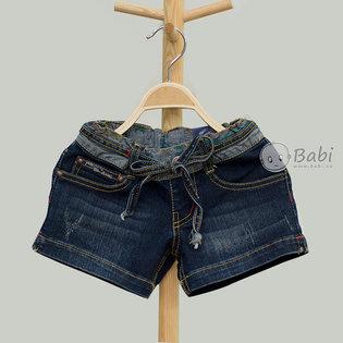 Quan short jeans wash rach cho be gai