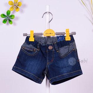 Quan short jeans be gai phoi soc