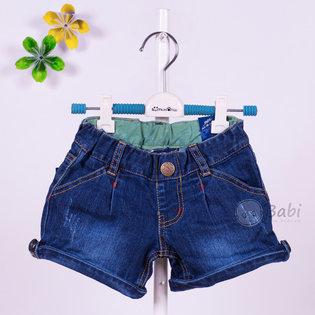 Quan short jeans cho be gai xan lai