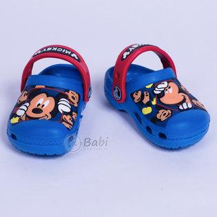 Giay crocs be trai hinh Mickey