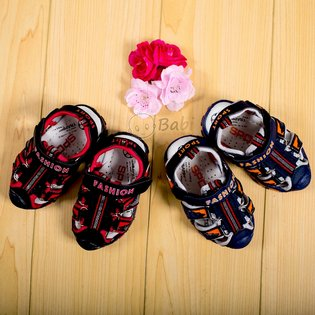 Giay sandal be trai co chu Fashion