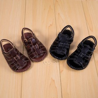 Giay sandal cho be trai sanh dieu