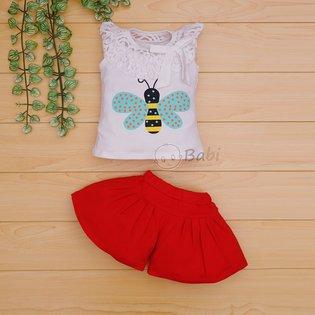Thoi trang do bo be gai in hinh con ong (9 thang - 7 tuoi)