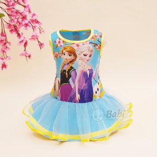 Dam cong chua Elsa cho be gai phoi voan (1-8 tuoi)