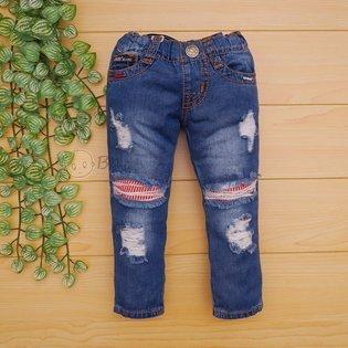 Quan jeans dai cho be trai rach lot vai soc do PSB