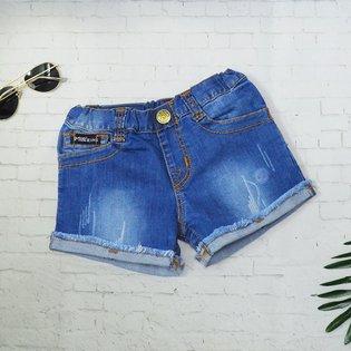 Quan short jeans PSB cho be gai lat lai xuoc (9 thang - 5 tuoi)