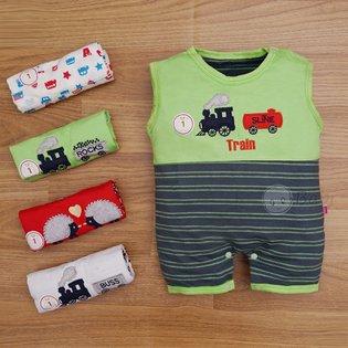 Set 5 Bodysuit so sinh cho be trai (3kg - 75kg)