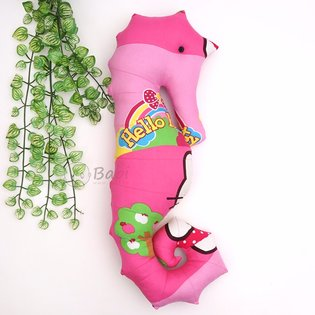 Goi om hinh ca ngua handmade cho be 75 cm
