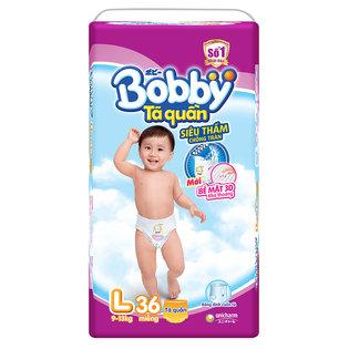 Ta (bim) quan Bobby sieu tham chong tran size L- 36 mieng (9 - 13kg)