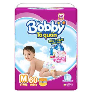 Ta (bim) quan Bobby sieu tham chong tran size M- 60mieng (6 - 10kg)