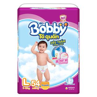 Ta (bim) quan Bobby sieu tham chong tran size L- 54 mieng (9 - 13kg)