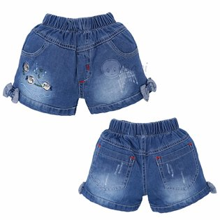 Quan jeans dui cho be gai theu ca dep (9kg-40kg)