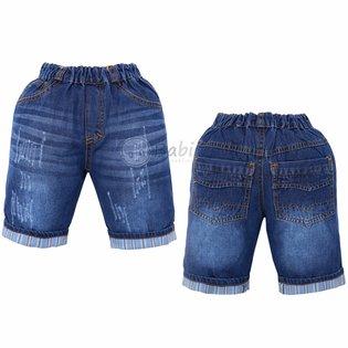 Quan jeans lung lat lai cho be trai wash nhe