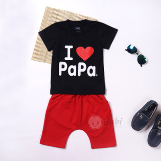 Do bo cho be quan lung I Love PaPa (9kg - 26kg)