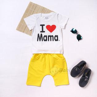 Do bo thun cho tre em quan lung I Love Mama (9kg-26kg)