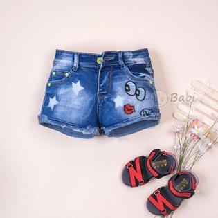 Quan jeans short be gai hinh doi mat (size dai)