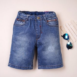 Quan jeans PSB be trai lung tui sau phoi vai linh (size dai)