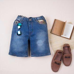 Quan jeans PSB lung be trai phoi mau pha cach (size dai)