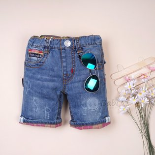 Quan lung jeans PSB wash not nhac lat lai cho be