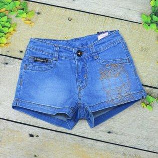 Quan short jeans PSB theu hinh co gai cho be yeu