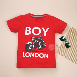 Ao thun cho be trai in Boy London size dai