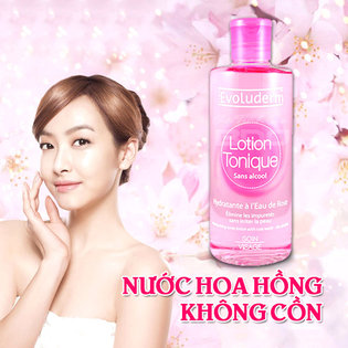 Nuoc hoa hong giu am Evoluderm Lotion Tonique 250ml