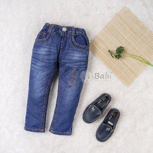 Quan jeans dai don gian cho be trai di hoc (2-6 tuoi)