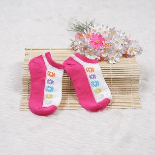 Tat chan cho be gai nheu hoa van 3-4 tuoi (16cm)