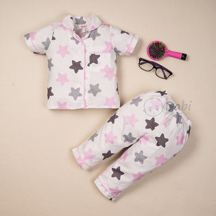 Bo pijama cho be gai in ngoi sao vien cuc dep (9 thang - 7 tuoi)