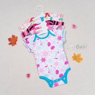 Set 5 bodysuit cho be gai so sinh (3-9 thang)