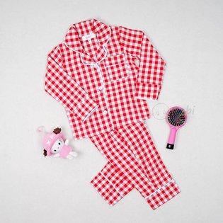 Bo pijama cho be soc caro xinh xan (9 thang - 7 tuoi)