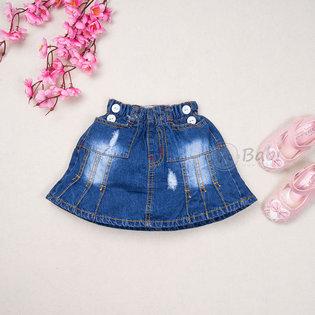 Chan vay jeans cho be gai thoi trang (size dai)