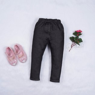 Quan legging cho be gai gia jeans (1 - 12 tuoi)