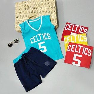 Bo be trai in Celtics 5 kieu the thao nang dong (4 tuoi - 9 tuoi)