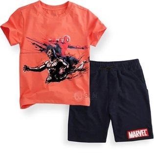 Do bo be trai 8 tuoi - 12 tuoi Spiderman size dai
