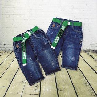 Quan jeans lung be trai tui sau phoi day keo kem day nit